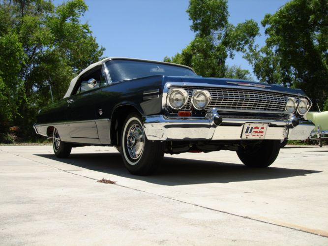 1963 Impala SS Convertible 409ci convertible muscle classic d wallpaper