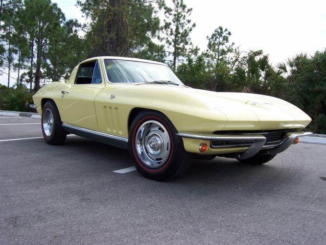 1966 Chevrolet Corvette Coupe muscle supercar classic d wallpaper