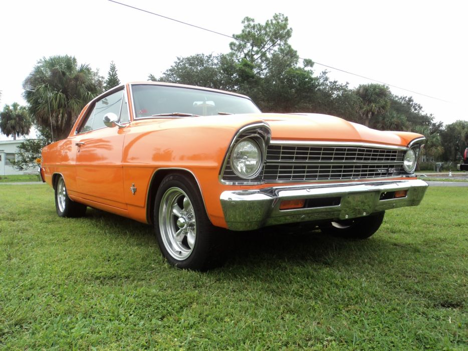 1967 Chevrolet Nova muscle classic hot rod rods s wallpaper