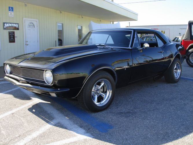 1967 Chevrolet Camaro 383 hot rod rods muscle classic s wallpaper