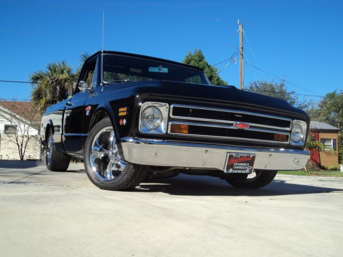 1968 Chevrolet C10 PickUp hot rod rods classic muscle d wallpaper