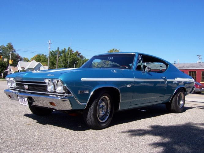 1968 Chevrolet Chevelle Yenko 427 muscle classic hot rod rods f wallpaper