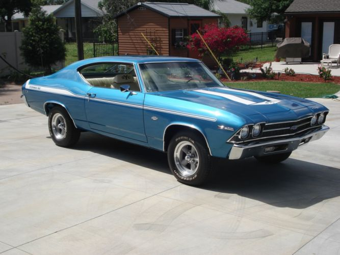 1969 Chevrolet Yenko Chevelle muscle classic hot rod rods d wallpaper