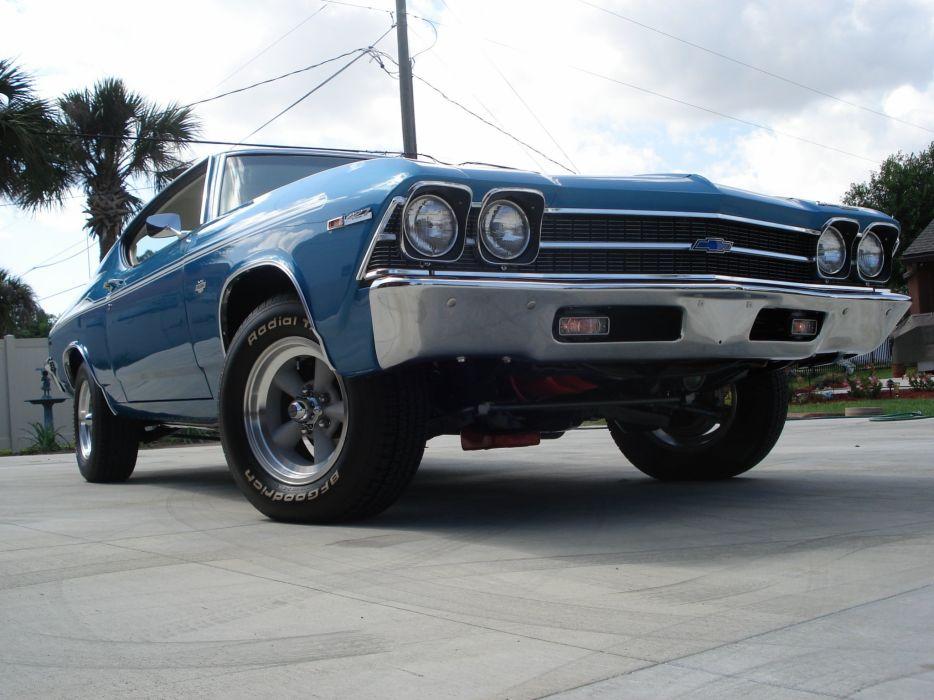 1969 Chevrolet Yenko Chevelle muscle classic hot rod rods d wallpaper