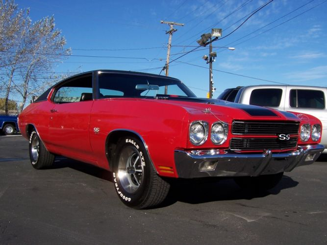 1970 Chevrolet Chevelle SS 454 muscle classic s-s d wallpaper