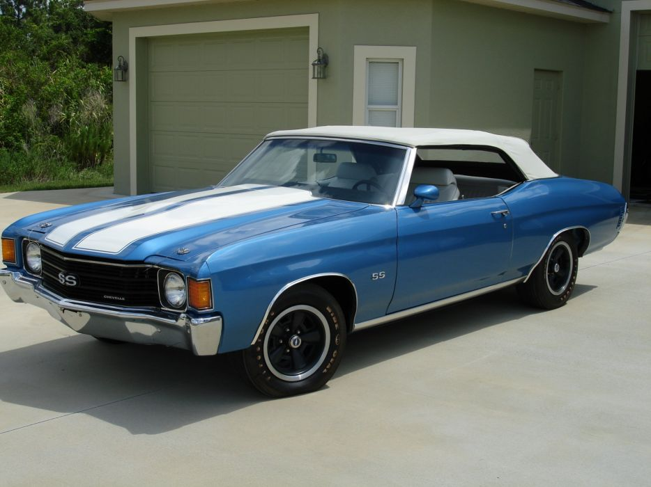 1972 Chevrolet Chevelle SS 396 muscle classic s-s d wallpaper