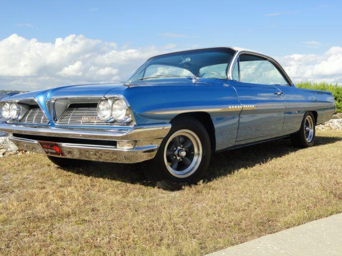 1961 Pontiac Bonneville Bubble Top muscle classic hot rod rods s wallpaper