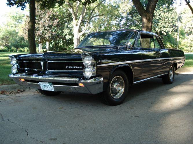 1963 Pontiac Catalina classic muscle d wallpaper