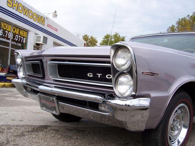 1965 Pontiac GTO 421ci muscle classic d wallpaper