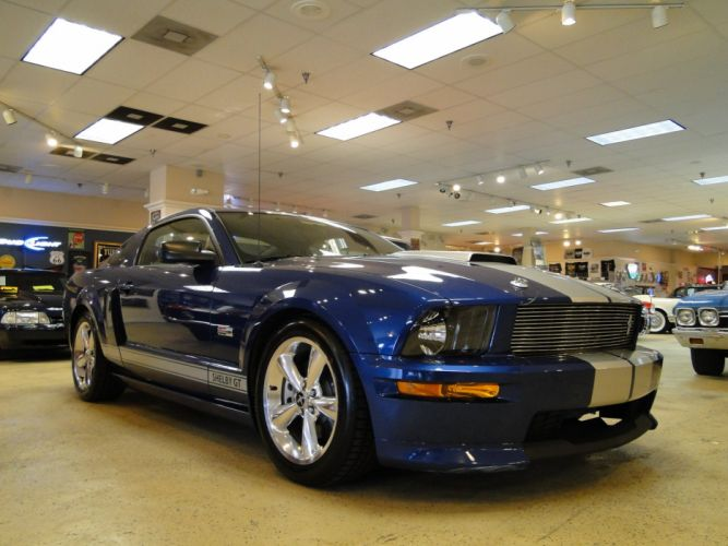 2008 Ford Mustang Shelby GT350 muscle d wallpaper