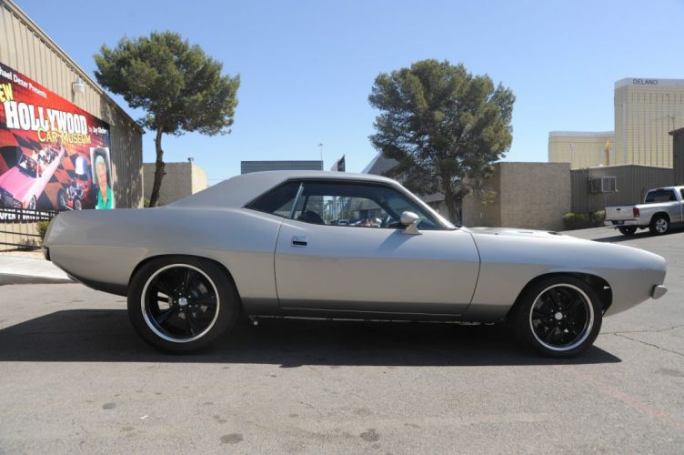 1973 PLYMOUTH BARRACUDA cuda hot rod rods muscle classic d wallpaper