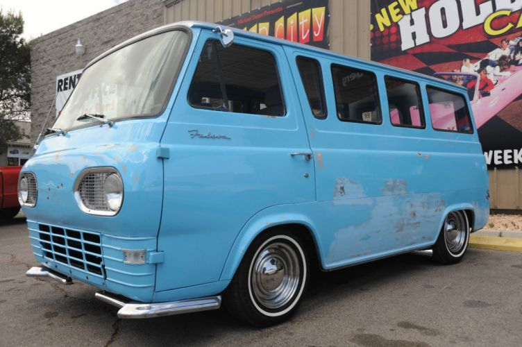 1963 FORD E-SERIES VAN custom classic lowrider d wallpaper