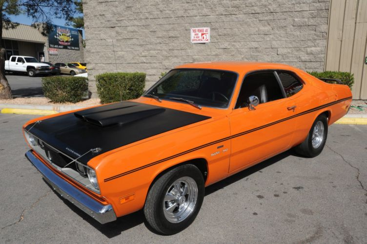 1970 PLYMOUTH DUSTER mopar hot rod rods muscle classic s wallpaper