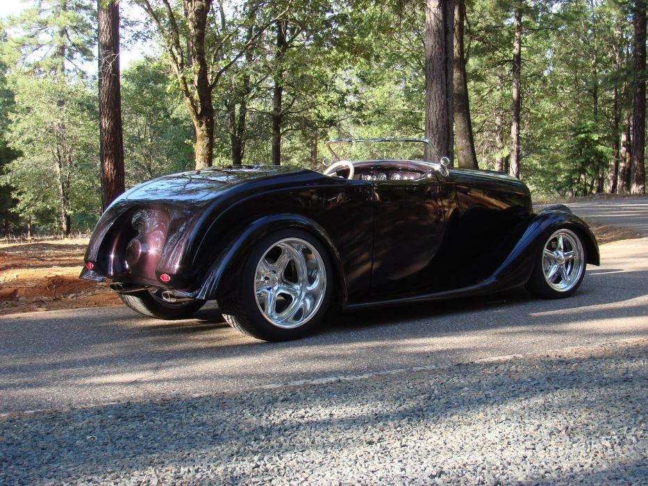 1933 Willys 690a Knight Roadster hot rod rods retro vintage custom d wallpaper