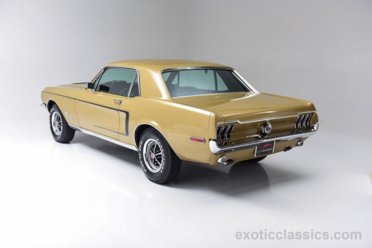 1968 Ford Mustang classic cars pony wallpaper