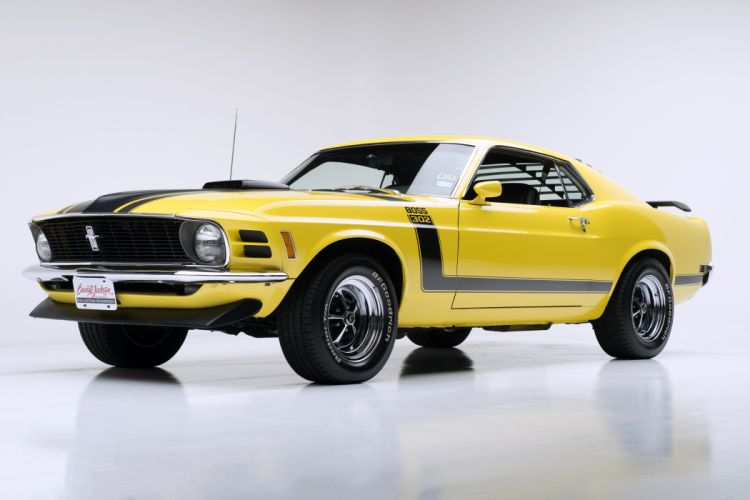 1970 FORD MUSTANG BOSS 302 muscle classic d wallpaper