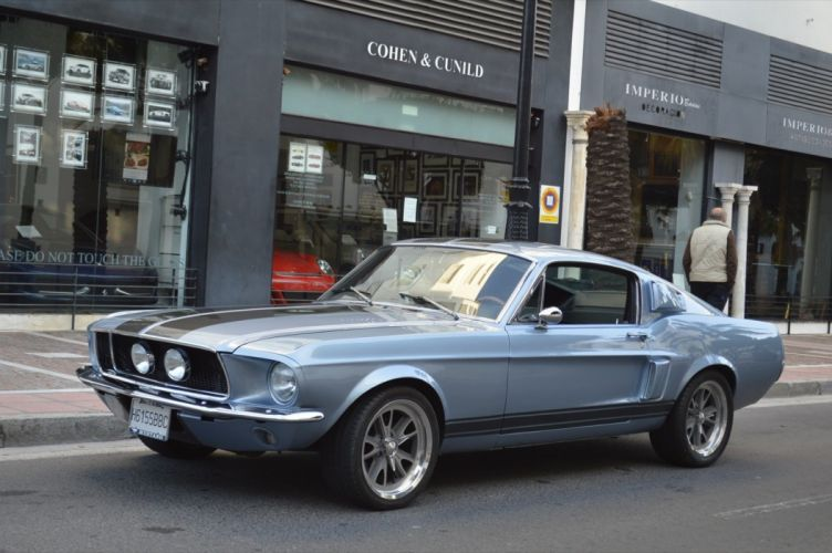 1967 FORD MUSTANG FASTBACK ELEANORA muscle classic d wallpaper