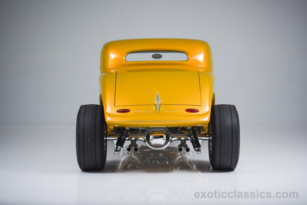 1933 FORD CUSTOM HOT ROD cars classic wallpaper