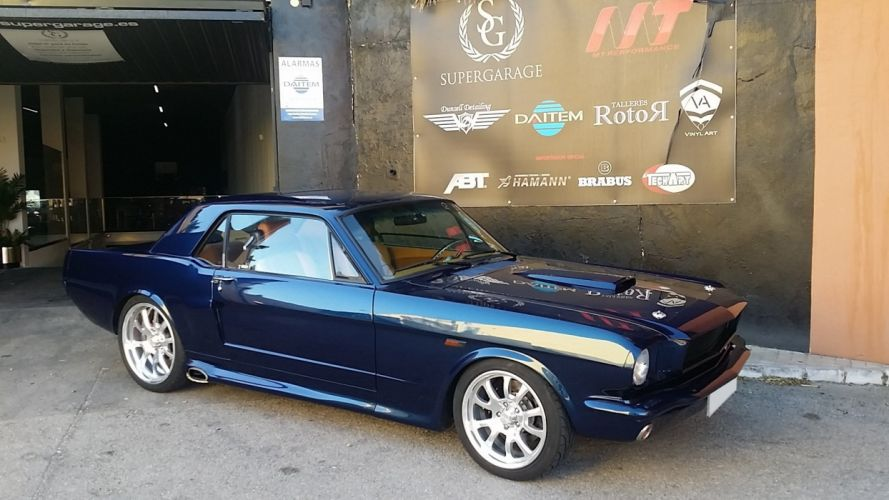 1966 FORD MUSTANG hot rod rods muscle classic d wallpaper