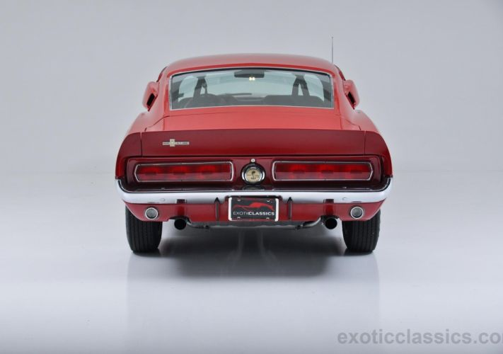 1967 Shelby GT500 mustang coupe classic cars pony red wallpaper