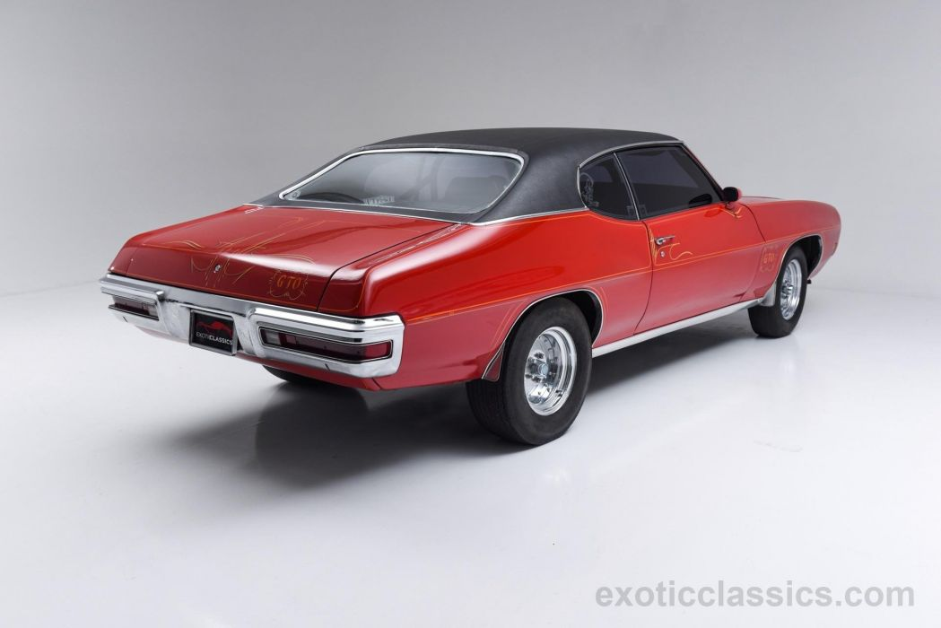 1970 PONTIAC GTO coupe classic cars red wallpaper