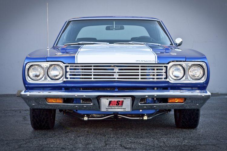 1969 Plymouth Road Runner muscle classic roadrunner hot rod rods d wallpaper