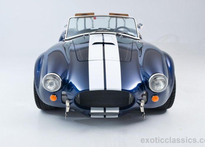 2013 Backdraft Roadster shelby Cobra Replica blue cars wallpaper