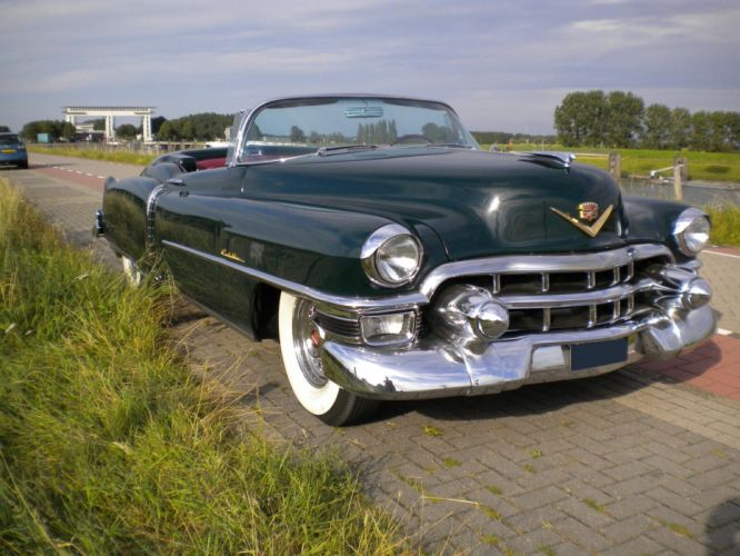 1953 CADILLAC ELDORADO CONVERTIBLE luxury retro d wallpaper