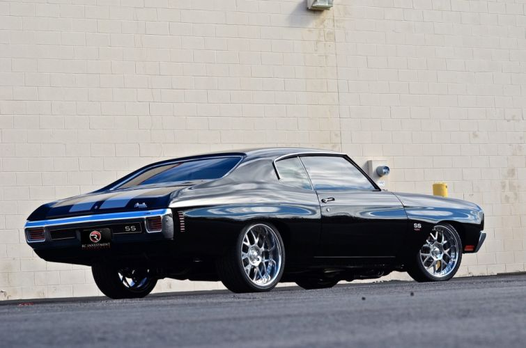 1970 CHEVROLET CHEVELLE SS 496 hot rod rods muscle classic s-s f wallpaper