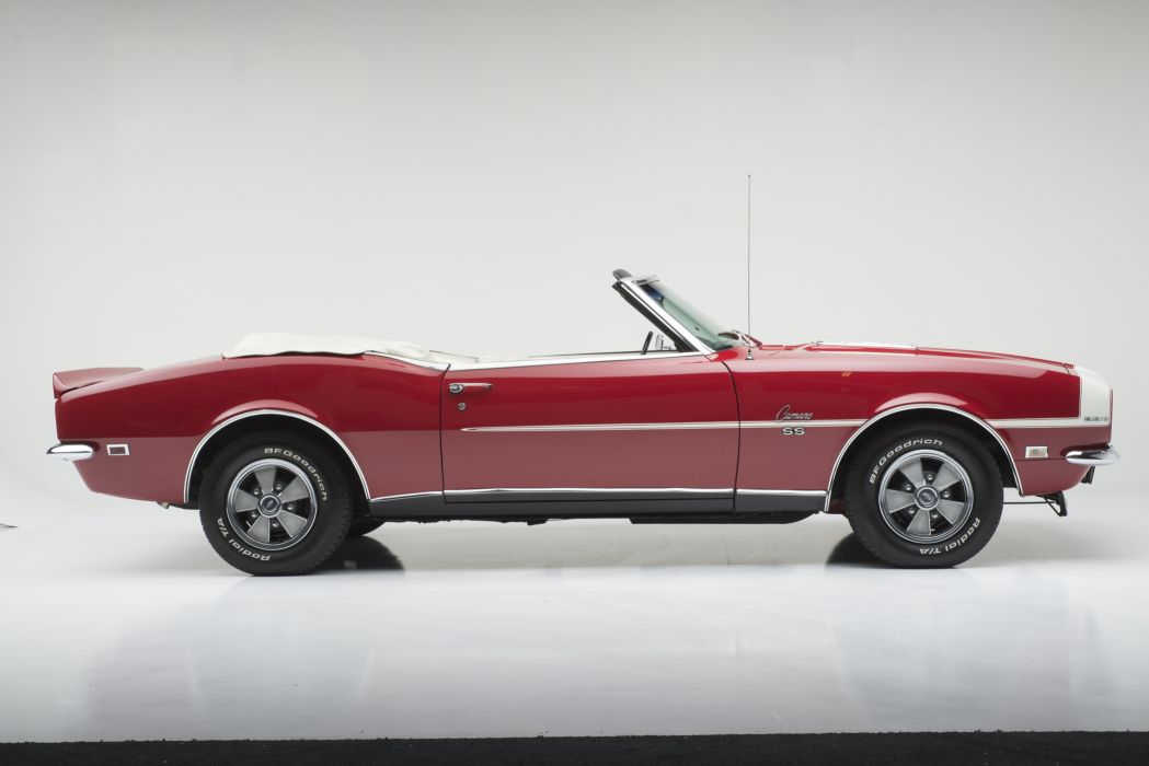 1968 CHEVY CAMARO RS SS CONVERTIBLE muscle classic s-s r-s f wallpaper