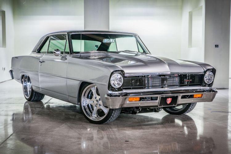 1966 Chevrolet Nova ll hot rod rods muscle classic l-l d wallpaper
