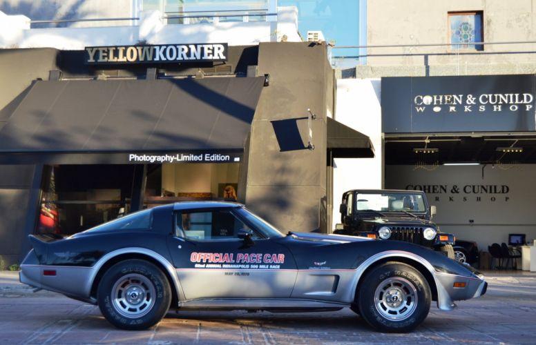 1978 Chevrolet Corvette pace race racing supercar muscle d wallpaper