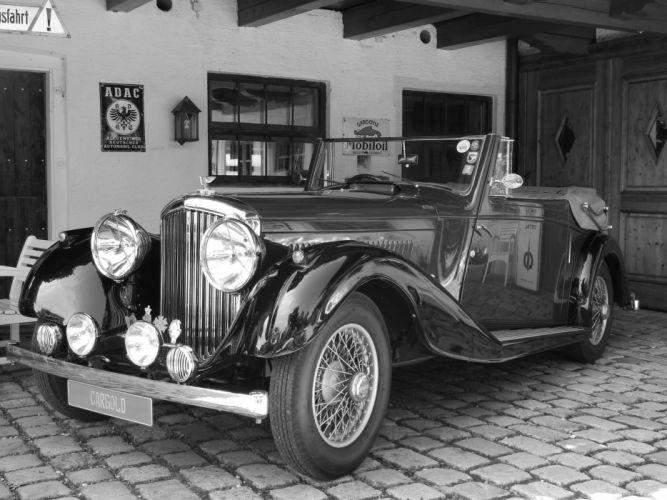 1935 BENTLEY MAYFAIR DROP HEAD COUPE luxury retro vintage d wallpaper