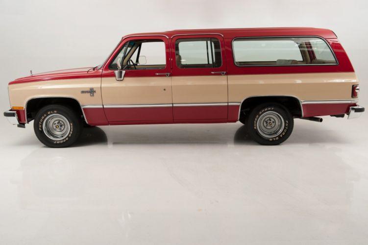 1985 Chevrolet Suburban truck cars wallpaper