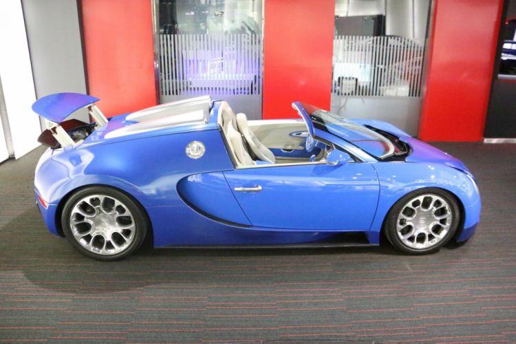 2010 Bugatti Veyron Grand Sport supercar d wallpaper