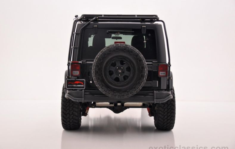 2011 Jeep Wrangler Unlimited Rubicon Black 4wd all road 4x4 cars wallpaper
