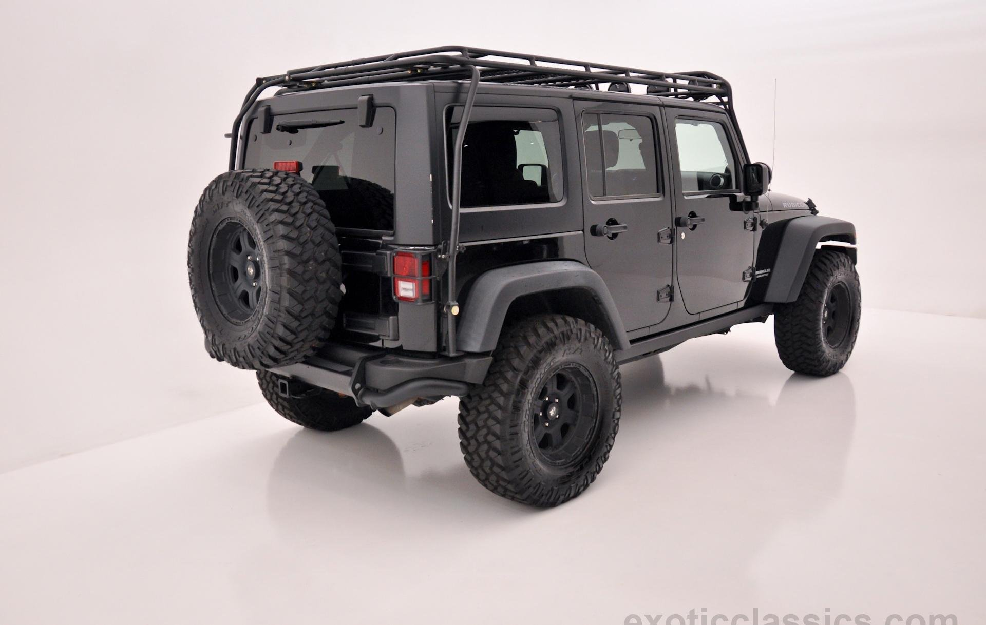 2011 Jeep Wrangler Unlimited Rubicon Black 4wd all road 4x4 cars