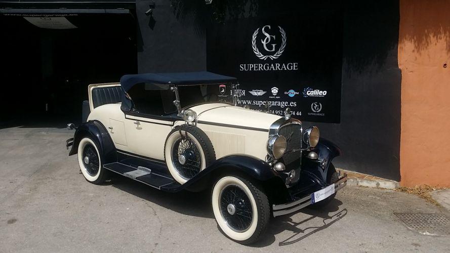 1930 DESOTO OCHO CONVERTIBLE V8 COUPE luxury retro vinyage d wallpaper