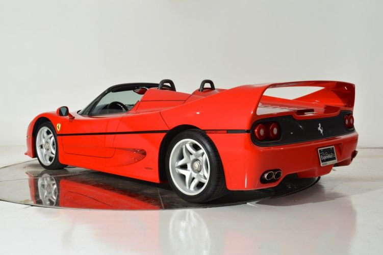 1995 FERRARI F50 supercar d wallpaper