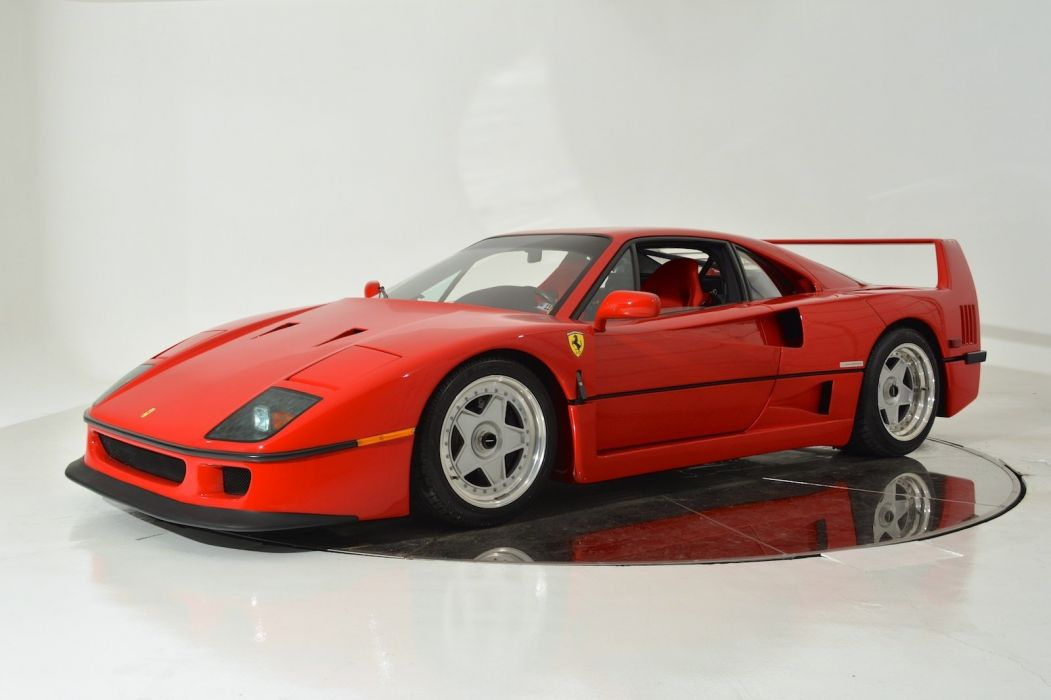 1991 FERRARI F40 supercar d wallpaper