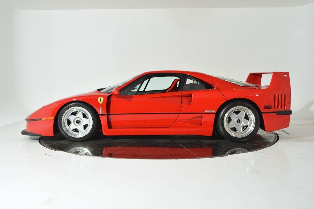 1991 FERRARI F40 supercar d wallpaper