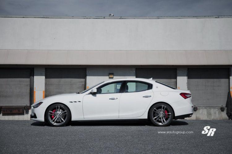 Maserati Ghibli white pur wheels cars wallpaper