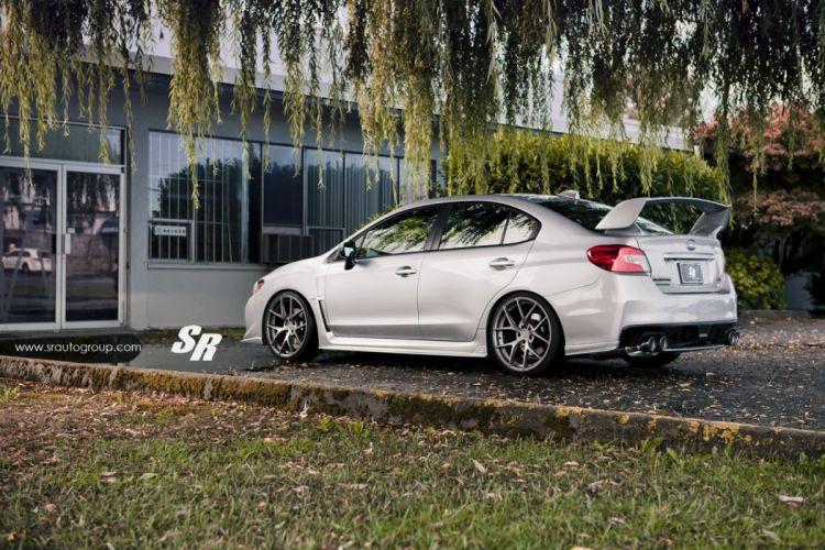 Subaru STI pur wheels cars wallpaper