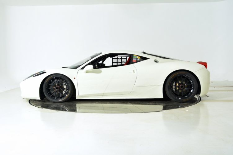 2011 FERRARI 458 CHALLENGE supercar d wallpaper