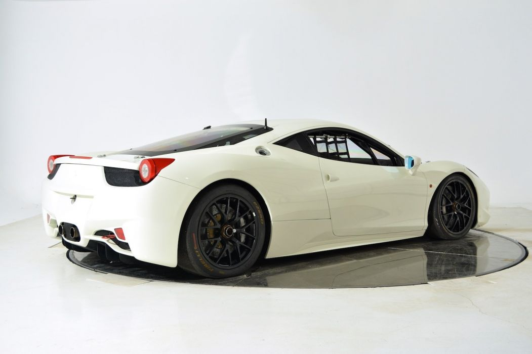 2011 FERRARI 458 CHALLENGE supercar d wallpaper