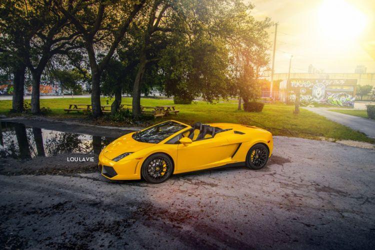 2013 Lamborghini LP550-2 Spyder supercar f wallpaper