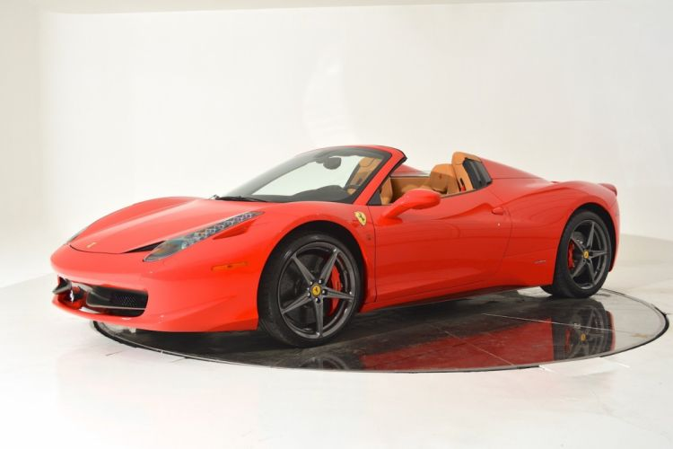 2014 FERRARI 458 SPIDER supercar f wallpaper