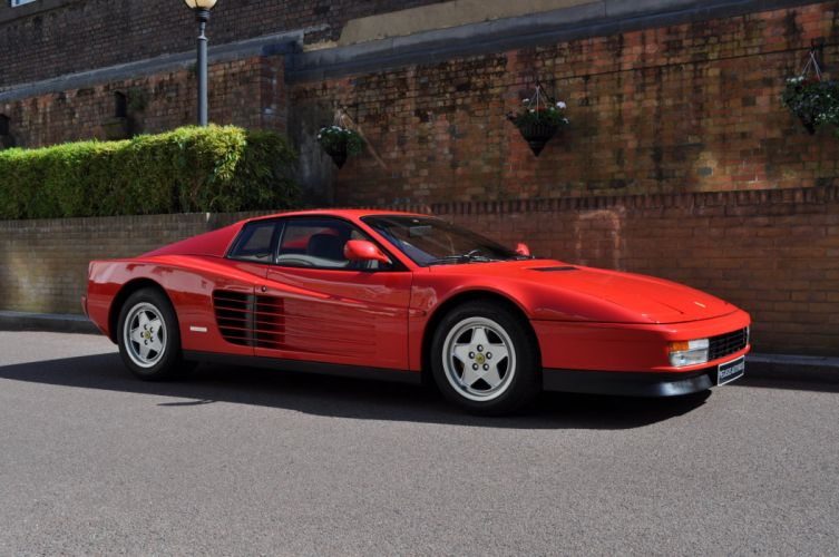 1989 Ferrari Testarossa supercar f wallpaper