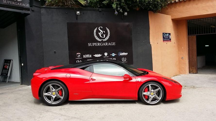 2010 FERRARI 458 ITALIA supercar f wallpaper