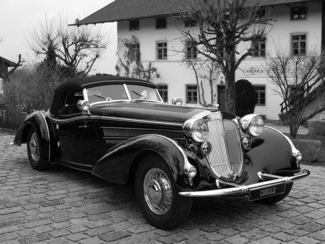 1939 HORCH 854 SPORT-CABRIOLET luxury retro g wallpaper